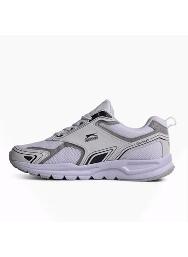 Slazenger Santıago Siyah-Beyaz Erkek Spor Ayakkabı Beyaz